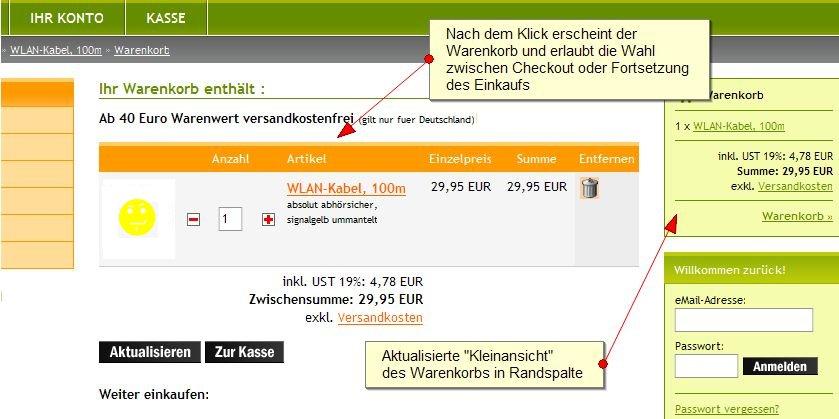 e73074b738 Warenkorb-Konversionsrate optimieren | Tipps zur Web-Usability